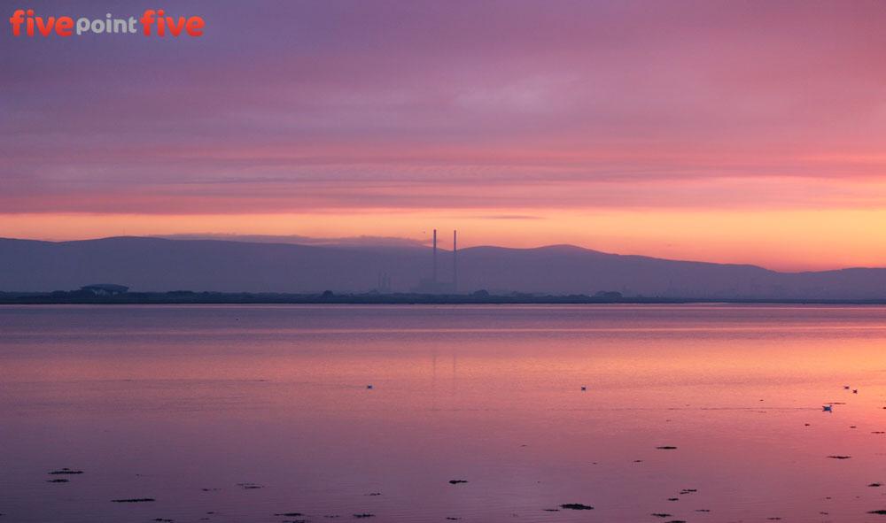 Irish winter sunsets
