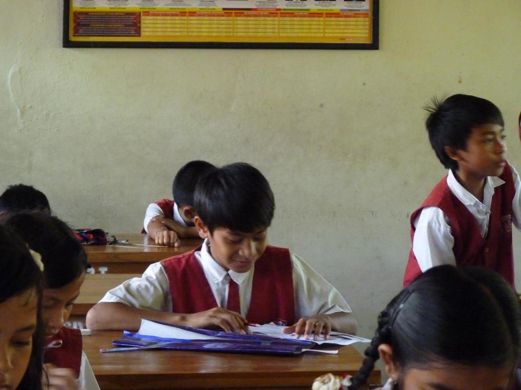 Yogi at school in 2011