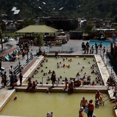 El Marques De Banos, Ecuador