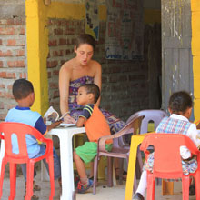 School for Kids in the Slums, Colombia