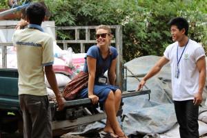 Nadia in Cambodia