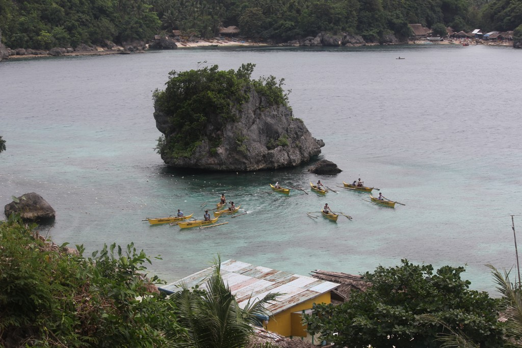 The Yellow Boats of Isla Mababoy