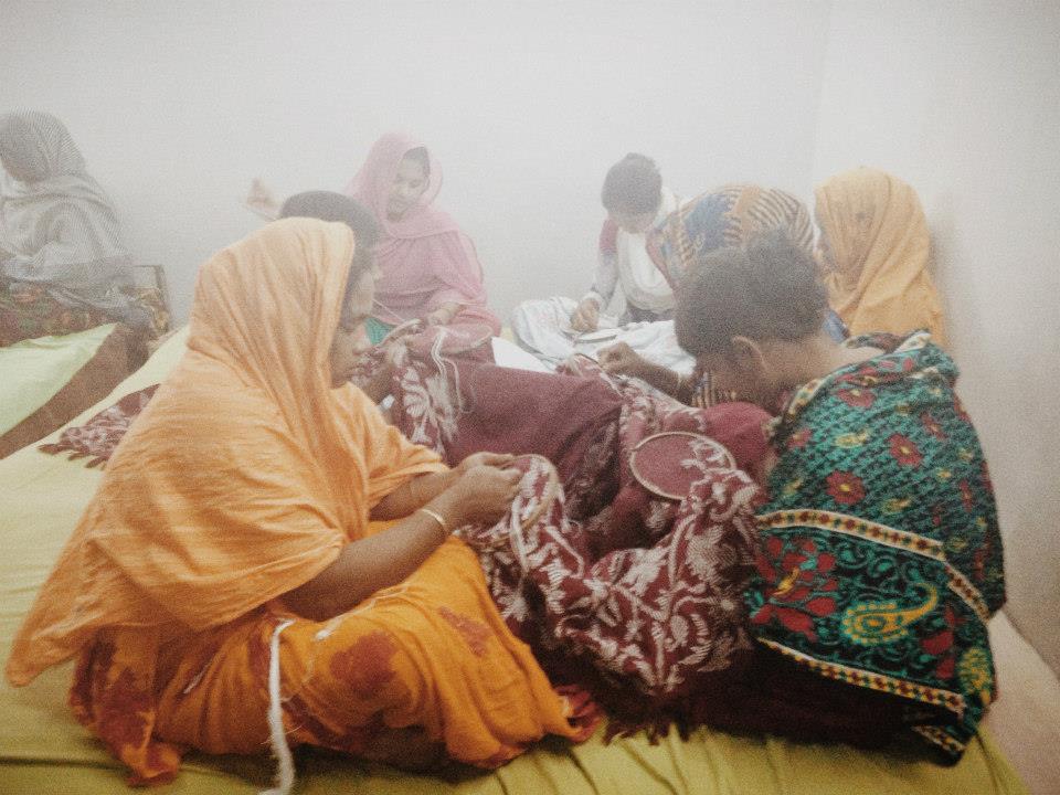 Women in Clothing Industry