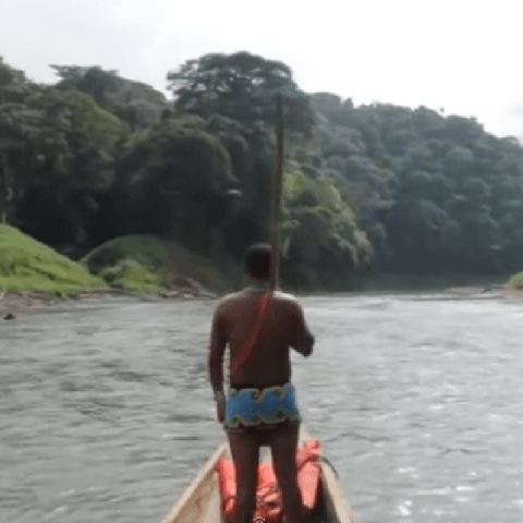 Embera Indian Tour, Panama