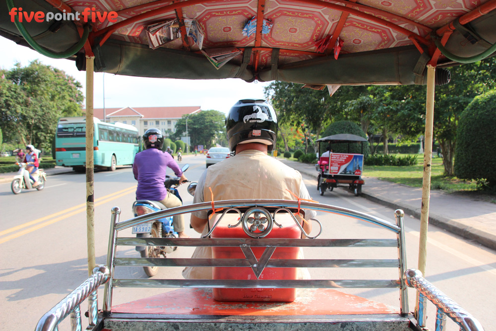 Mr Lin, Tuk Tuk, Siem Reap