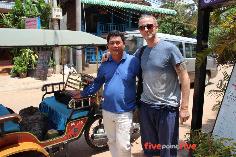 Mr Lin - Tuk Tuk Driver Siem Reap