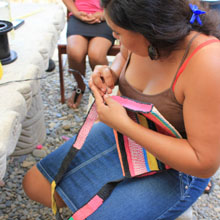 Community Project: Upcycling Plastic Bags, Nicaragua