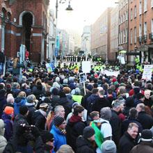 Irish Water Protests, Dublin