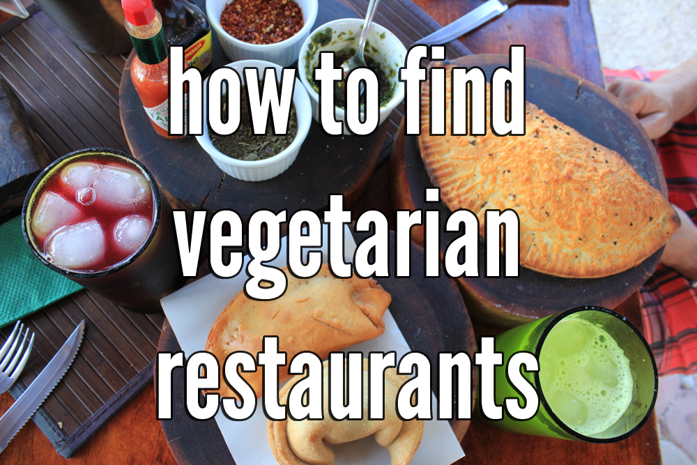 How to find vegetarian restaurants